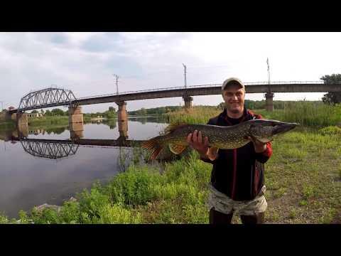 Джеркбейт рiчка Самара  Україна. The Samara River Ukraine.