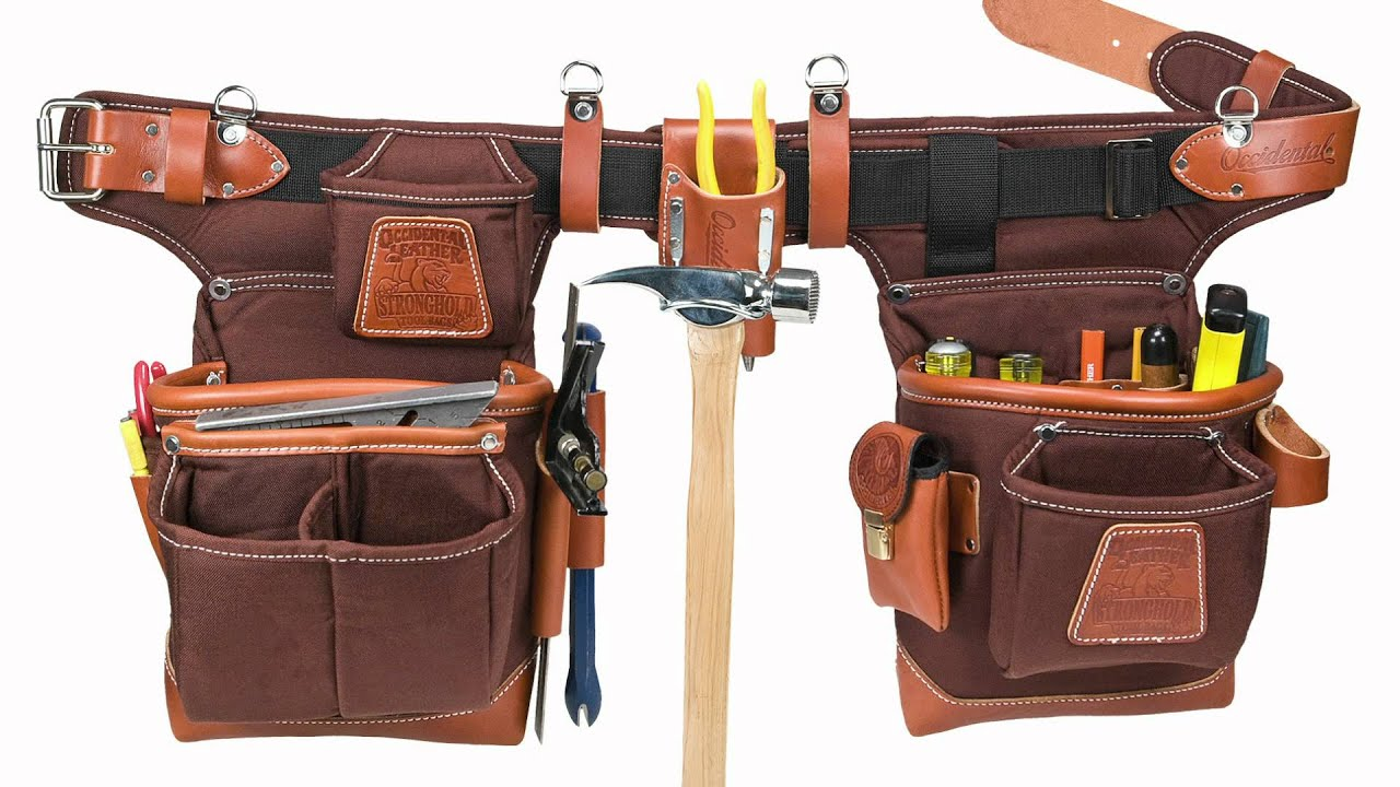 choosing an occidental leather tool carrying system youtube