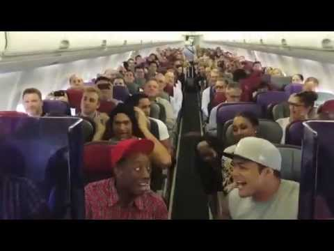 Thumbnail: THE LION KING Australia: Cast Sings Circle of Life on Flight Home from Brisbane