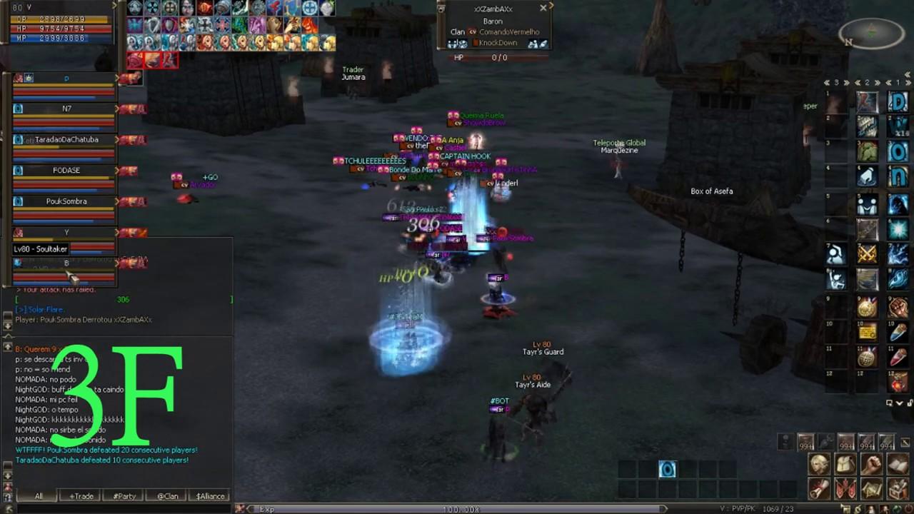 L2 Black Clan 3F 8x15 , Cp Bot Wins !!!