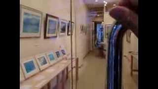 神戸三ノ宮で行われた展示会の様子です。往年のフレンチラインの客船を...