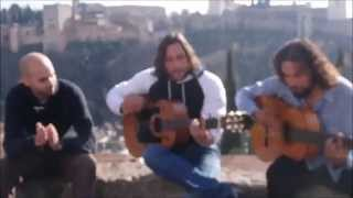 Música en el mirador de san Nicolás - PEDACITOS DE TI - Music in Granada