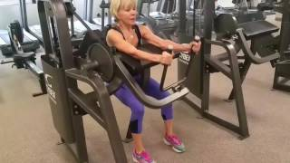 Flat Abs in 60 Days Workout - Linda: Strong at 70 Years Young