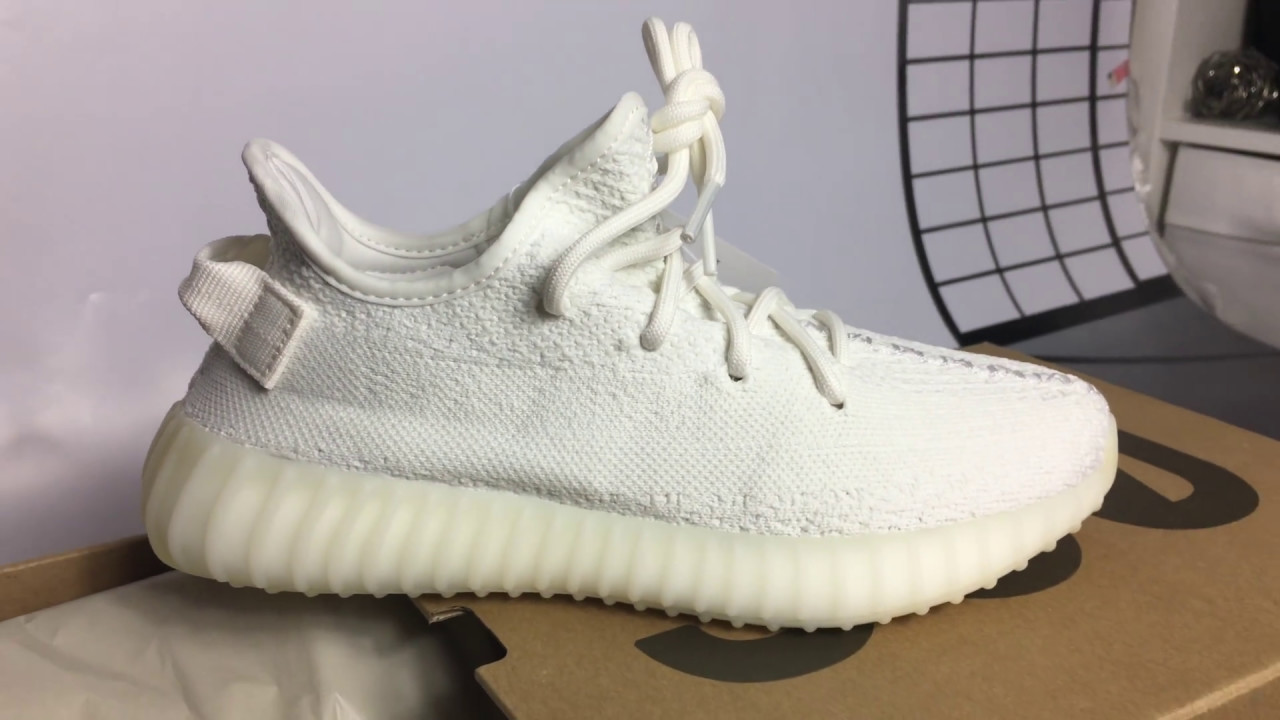 adidas Yeezy BOOST 350 V2 Triple White Cream White Unboxing