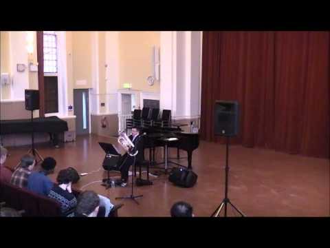 'Susurration' for euphonium & electronics (Lucy Pankhurst) - David Thornton, euphonium