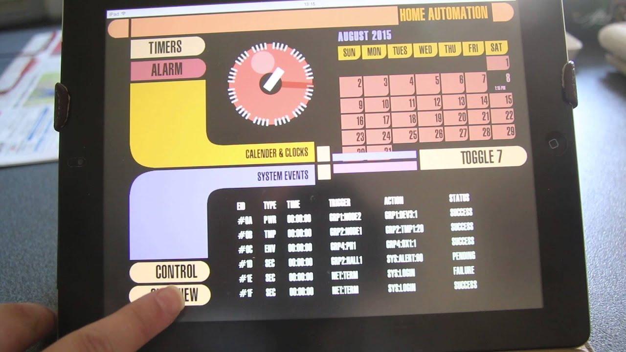Experimental Okudagram Interfaces | Hackaday io