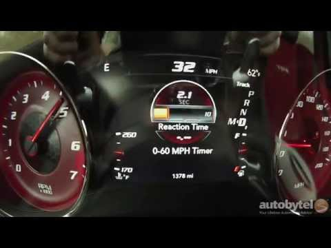 2015 Dodge Charger SRT Hellcat 0-60 MPH Test Video - 707 HP Supercharged 6.2 Liter Hemi V-8