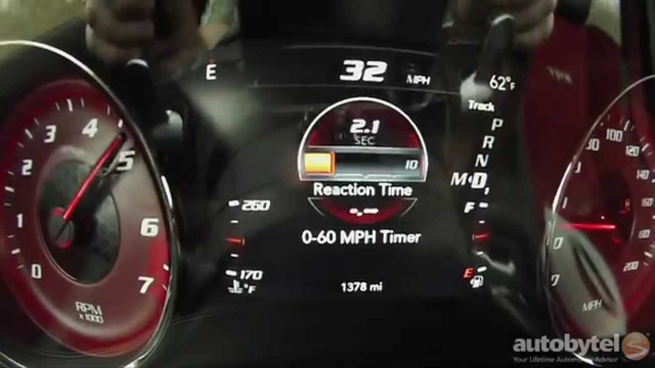 2015 Dodge Charger Srt Hellcat 0 60 Mph Test Video 707