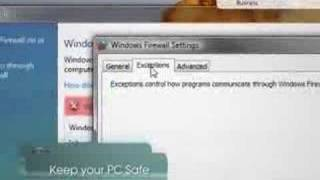 Microsoft Windows Vista Security Tip - Windows Firewall