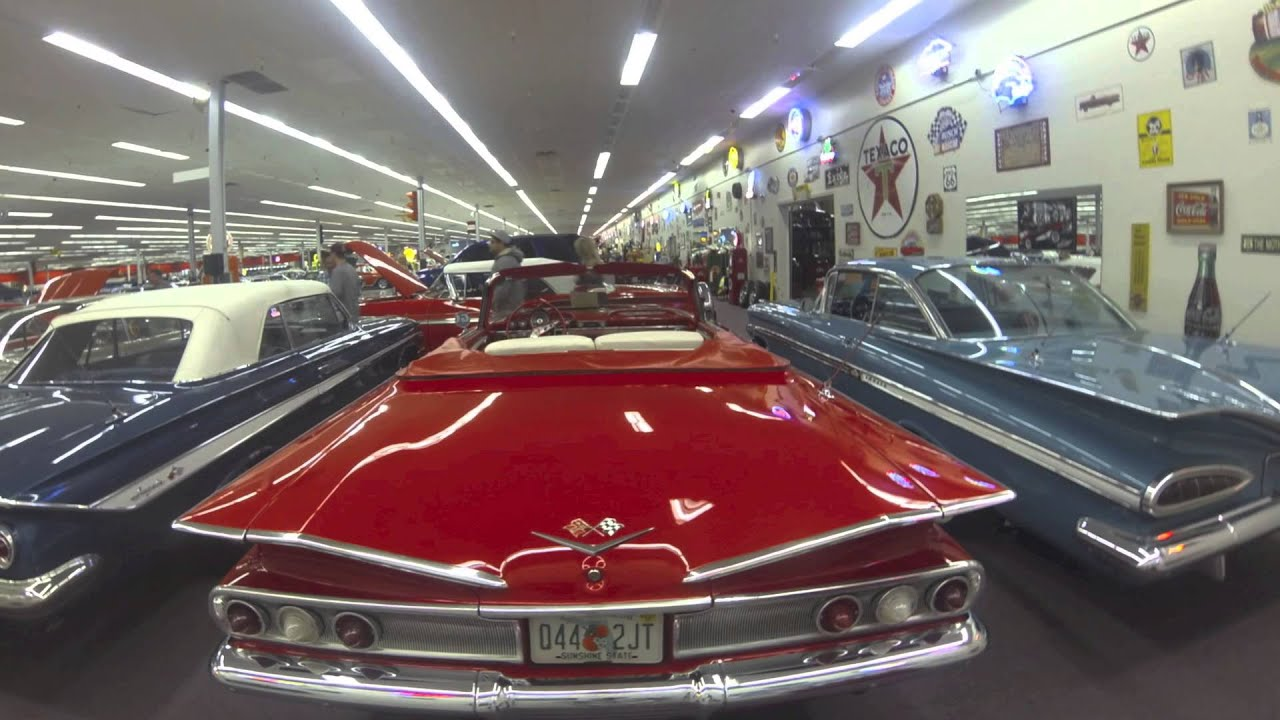 Rick Treworgy S Muscle Car City Museum Youtube