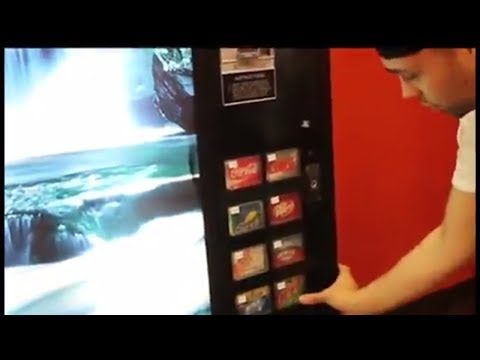 Get Free Coca Cola From Any Vending Machine (Life Hacks You Should Know) - Try At Your Own Risk