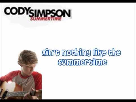 Summertime Cody simpson Karaoke -  SING WITH CODY!