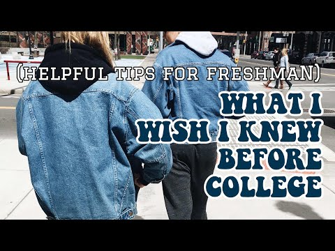 Everything You Need to Know Before Freshman Year of College