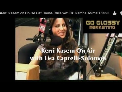 Kerri Kasem on TV House Cat House Calls with Dr. Katrina Animal Planet