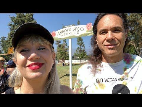 Eating Vegan + Rocking Out At Arroyo Seco Weekend