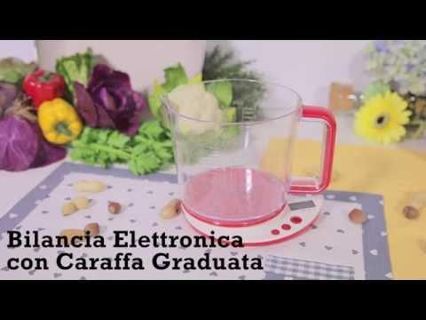 Bilancia Elettronica con Caraffa Graduata