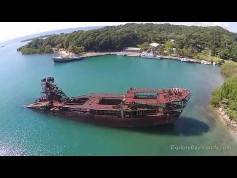 Roatan - Dixon Cove Wreck