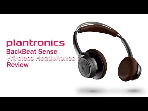 Plantronics BackBeat Sense Wireless Headphones Review: Headphones with Sensors