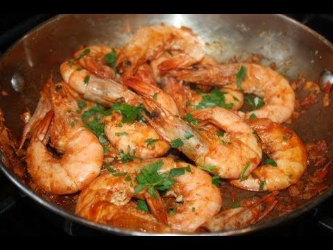 Blazing Jamaican Peppered Shrimp.