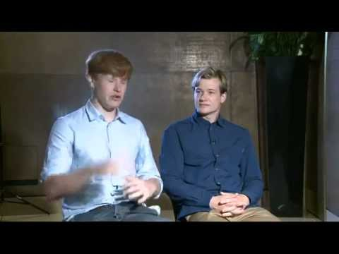 Downton Abbey Ed Speleers & Matt Milne mull over their Olympic strengths.mp4