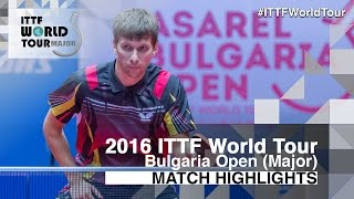 2016 Bulgaria Open Highlights: Adrien Mattenet vs Mikhail Paykov (1/4)(Review all the highlights from the Adrien Mattenet vs Mikhail Paykov (1/4) match from the 2016 Bulgaria Open Subscribe here for more official Table Tennis ..., 2016-08-27T21:05:47.000Z)