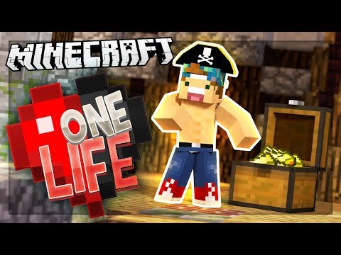 PIRATE SHIP FULL OF TREASURE! | One Life SMP #22