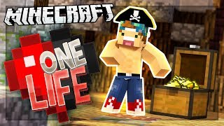 PIRATE SHIP FULL OF TREASURE!   One Life SMP #22