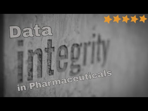 Data Integrity In Pharmaceuticals