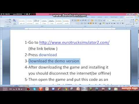 How to get Euro truck simulator 2 full version for free
