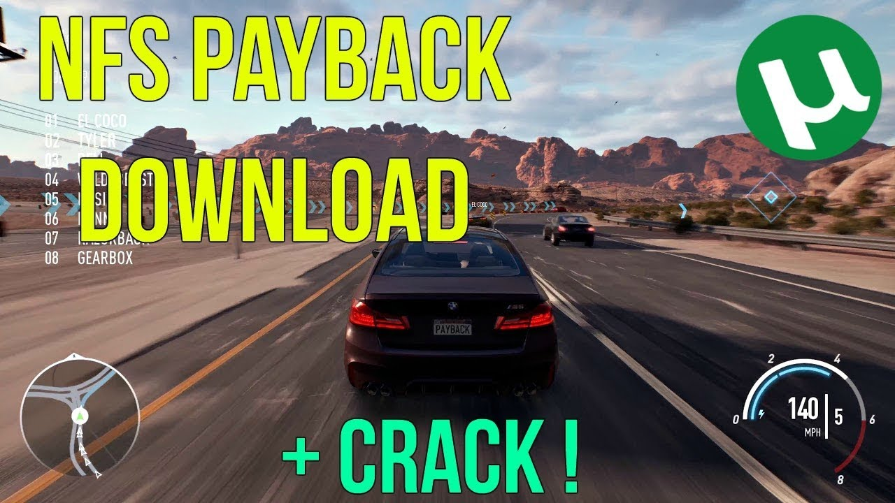 need for speed: payback кряк