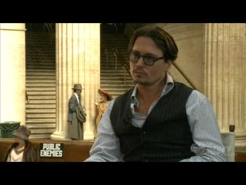 Public Enemies: Johnny Depp Interview