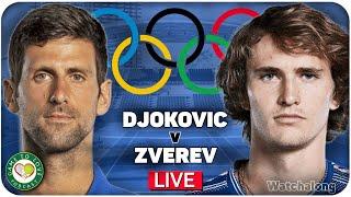 DJOKOVIC vs ZVEREV   Tokyo Olympics 2020 Semi Final