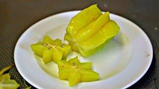 Star Fruit Taste Test