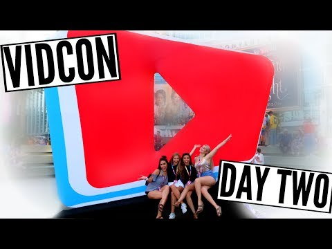 EPIC TRUTH OR DARE WITH TV STARS AT VIDCON!! || Vidcon Day 2 Vlog