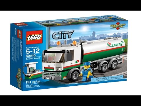 Lego City 60016 Tanker Truck - Lego Speed Build