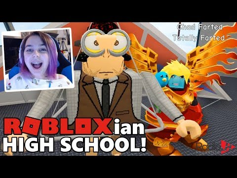Roblox ROBLOXIAN HIGH SCHOOL FUNNY ADVENTURE w/ GAMER CHAD