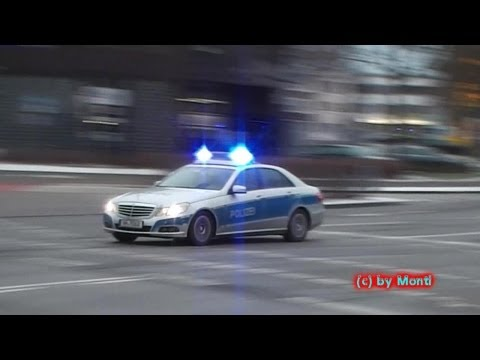 Viele Einsatzfahrten an der Videogarantiekreuzung/Feuerwache Hamburg - Bergedorf (HD)