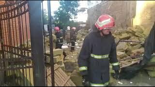 Полтава: рятувальники провели роботи по розбору будівельних конструкцій