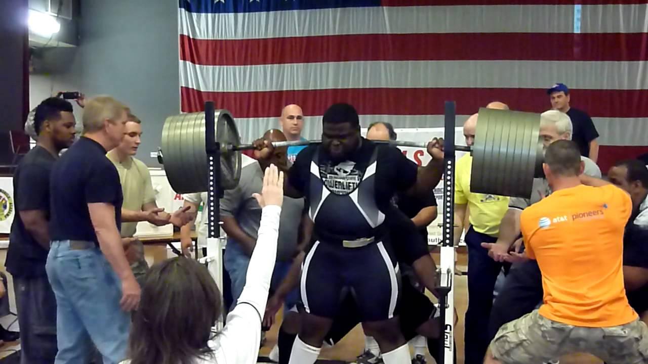 Ray Williams 905 lbs