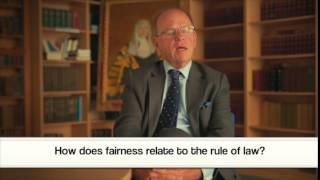 The Bingham Centre Schools Project - Professor Jeffrey Jowell explains the rule of law