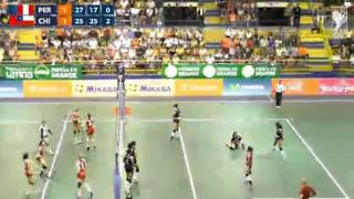 Sudamericano de Voleibol Femenino Menores Tarapoto 2014 - Perú vs. Chile