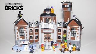Lego Batman Movie 70912 Arkham Asylum Speed Build