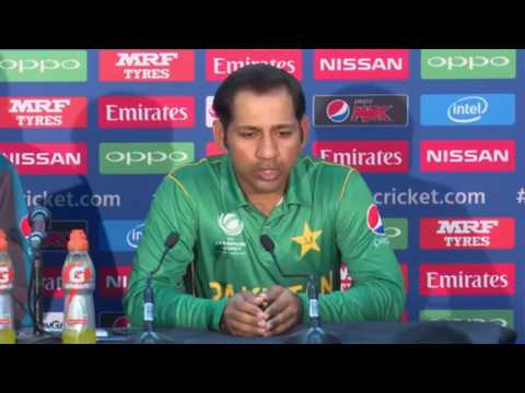 sarfraz ahmed reply to aamir sohail in press conference before final match of champions trophy 2017