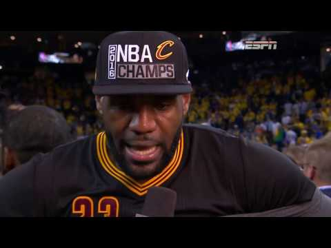 Thumbnail: Final 3:39 of Game 7 of the 2016 NBA Finals | Cavaliers vs Warriors
