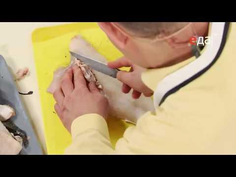 Как снять кожу с рыбы / мастер-класс от шеф-повара / Илья Лазерсон
