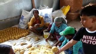 How Jaggery/ Paagu Vellam/ Naatu Chakkarai/ Bella is made from Sugarcane - by Akiesh n Arun Kumar B