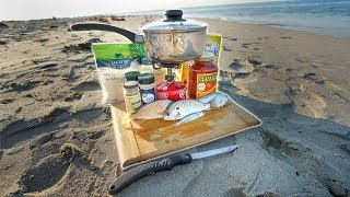 NO FOOD!! Saltwater Fishing (Catch Clean Cook)