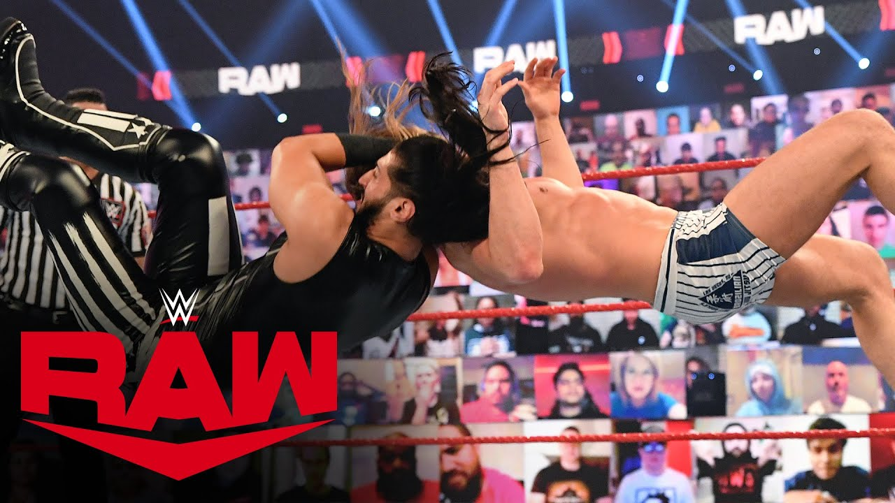 Riddle vs. Mustafa Ali: Raw, Mar. 1, 2021