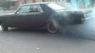 1967 Plymouth Fury III burnout