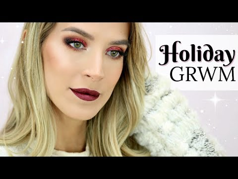 FULL GLAM HOLIDAY MAKEUP | CHATTY GRWM